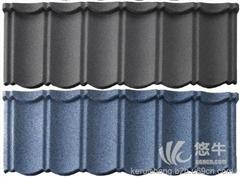 供应经典型彩石金属瓦品牌价格