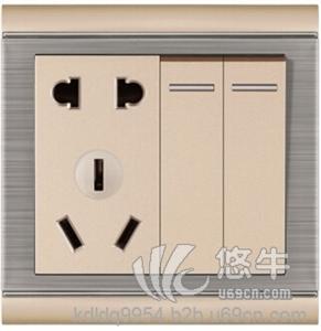 墙壁开关插座的接线方法以常用家庭类的开关插座为例来讲解开关插座的