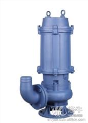 供应石一泵阀QWD焊接刀片潜水排污泵