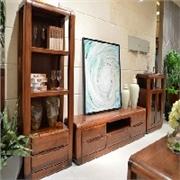 新款红橡木电视柜一森实木家具供应,新的一年里这是您无悔的选择