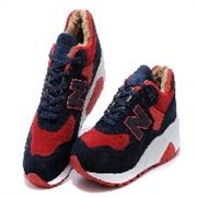 新百伦 580 猪巴革 加绒保暖情侣鞋批发厂家一手货源