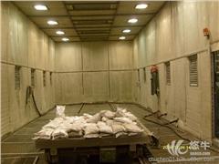 供应山东开泰机械循环回收式喷砂房成套设备