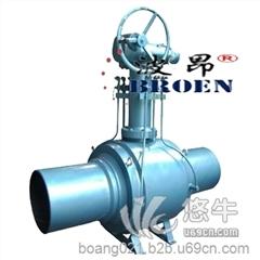 供应A105高压锻钢全焊接球阀