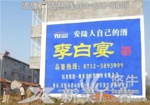 供应防城港喷绘广告-户外广告墙体广告