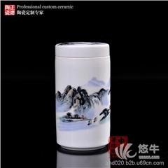 供应定做陶瓷茶叶罐厂家