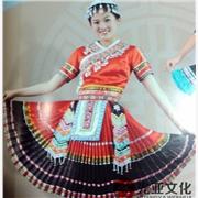 供应糖果苗族舞蹈演出服_苗族民族舞蹈服饰