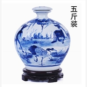 陶瓷酒瓶,景德镇陶瓷酒瓶