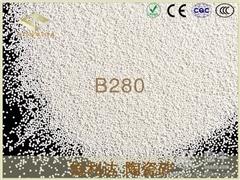 供应陶瓷砂B280电脑外壳喷砂陶瓷砂B280电脑外壳喷砂