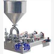 搅拌式膏体灌装机 产品汇 供应世鲁甜面酱灌装机/济南世鲁膏体灌装机