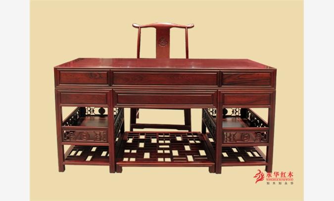 供应永华家具古典红木家具@永华红木家具书房办公桌