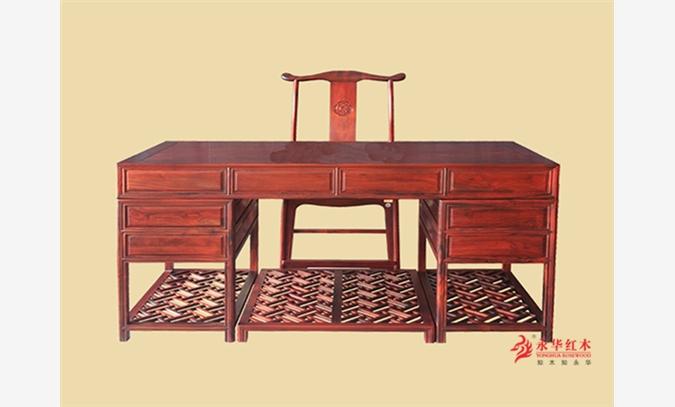 办公室家具红木班台 红木家具品牌价格