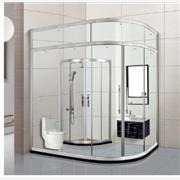 供应兆拓卫浴隔断 淋浴房材料 淋浴隔断促销