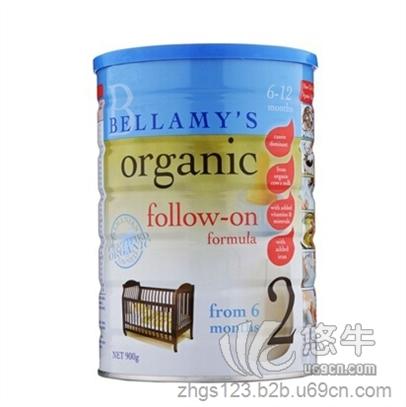 有机奶粉2段(6-12个月)