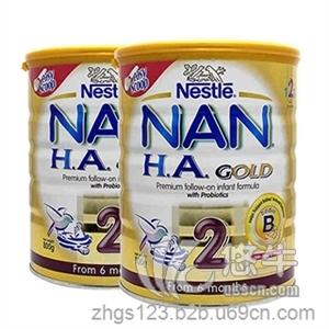 雀巢Nestle NAN HA超级能恩2段 婴儿配方奶粉