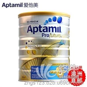 爱他美Aptamil澳洲新西兰原装进口900g 婴幼儿奶粉白金版3段 1-3岁