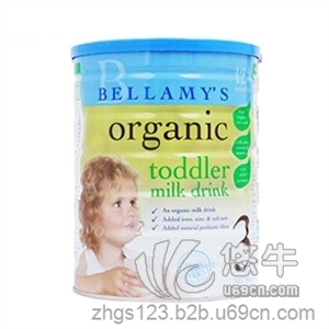 供应贝拉米澳洲原装进口900g  有机婴儿奶粉3段(1-3岁)