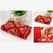 竹纤维纱 产品汇 竹纤维喜庆系列套巾
