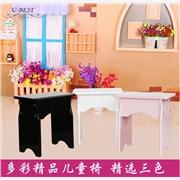 供应优必胜韩式儿童琴凳时尚小板凳木制环保儿童学习凳