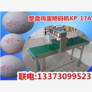 供应河北鸡蛋喷码机,整盘全自动鸡蛋喷码机