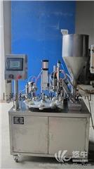 供应BiaoZan BZ-50半自动的ab胶的软管灌装封尾机