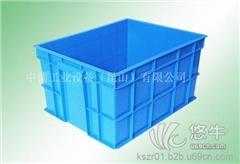 供应中儒500-250箱昆山加强型塑料周转箱
