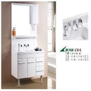 九牧王卫浴白色浴室柜_精品白色浴室柜 高档浴室柜价格