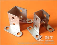 供应护栏配件2个厚四孔固定座
