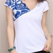 民族提花带 产品汇 民族风短袖T恤