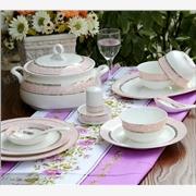 高档骨质瓷餐具 家居礼品陶瓷餐具