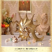 复古创意海螺 造型家居饰品 玄关客厅电视柜摆件 树脂工艺品