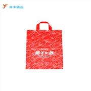 广州厂家定做友谊商店透明胶袋 吊带PE胶袋印刷设计价格5000起订