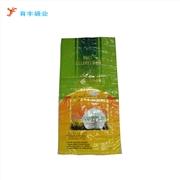 厂家定制泰国香米彩印编织袋 110克大米包装编织袋 25KG编织袋