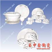 供应陶瓷餐具礼品套装 各种活动餐具定