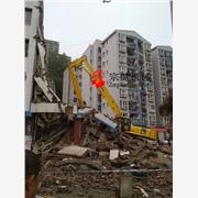 供应挖掘机三段式加长臂|拆除机|拆房