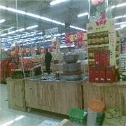 �州家�d石磨供���r位合理的超市柜�_香油磨