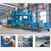供应开泰钢板型材抛丸清理机Q69系列钢板型材抛丸清理机