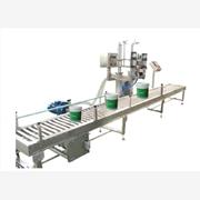 供应全自动水性涂料灌装机,粘合剂全自