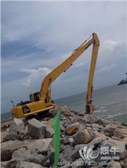 供应小松PC350挖掘机加长臂清理河道