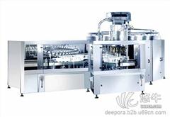 冲瓶灌装旋盖三合一机组 DP60