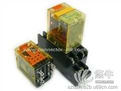 供应IDEC RU2S/RU4S日本和泉/IDEC通用继电器