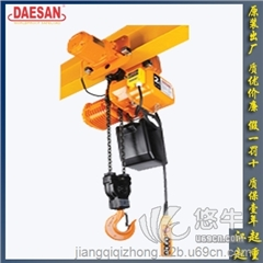 供应韩国DAESAN DST双重制动系统电动葫芦