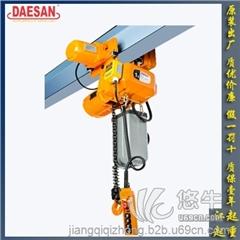 供应韩国DAESAN EDSM双速变频双制动刹车系统电动葫芦