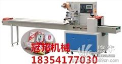 供应冠邦320枣庄雪饼枕式包装机&米通枕式包装