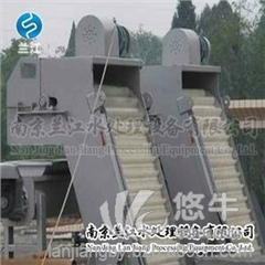 供应南京兰江GSHZ钢丝绳格栅清污机