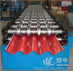 供应鑫睿750型彩钢压瓦机厂家750型彩钢压瓦机
