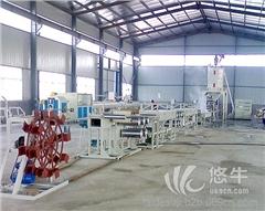 供应青岛泰德塑机PET塑料圆丝拉丝机生产线设备器