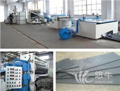供应青岛泰德塑机加粉煤灰塑料建筑模板生产线设备机