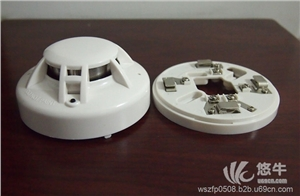 供应联网烟感 24v继电器烟感探测器