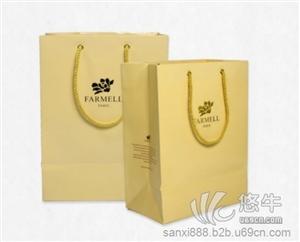 供应高档压纹 烫金铜版纸袋定制多少钱礼品纸袋订做厂家 铜版手提纸袋