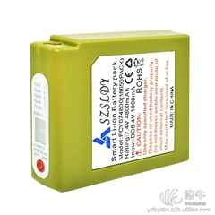 发热按摩腰带锂电池7.4V